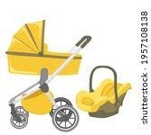 baby stroller transformer....   Shutterstock .eps vector #1957108138