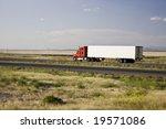 Truck Interstate 10 Arizona Usa