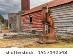 Old Mining Factory In The Ghost ...