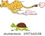 cartoon vector illustration of...   Shutterstock .eps vector #1957163158