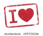 i love ink | Shutterstock .eps vector #195723236