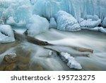 Winter Landscape Of Cascade...