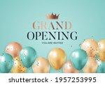 grand opening congratulation...   Shutterstock .eps vector #1957253995