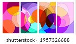 vector colorful abstract fluid... | Shutterstock .eps vector #1957326688