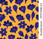 nature spring seamless pattern... | Shutterstock .eps vector #1957338112