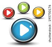 web buttons   Shutterstock . vector #195750176