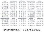 240 modern thin line icons.... | Shutterstock .eps vector #1957513432
