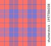 easter tartan plaid. scottish...   Shutterstock .eps vector #1957586038