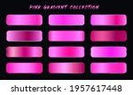 pink gradients swatches set...