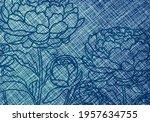 Blue White Turquoise Background ...