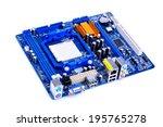 motherboard   Shutterstock . vector #195765278