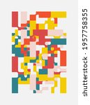 generative design artwork... | Shutterstock .eps vector #1957758355