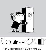 something new. business... | Shutterstock .eps vector #195779522