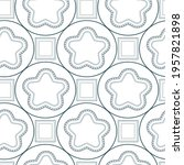 abstract pattern with seamless... | Shutterstock .eps vector #1957821898
