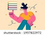education  learning  studying...   Shutterstock .eps vector #1957822972