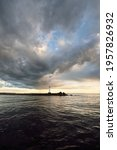 Lighthouse With A Solar Battery....