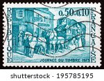 france   circa 1973  a stamp... | Shutterstock . vector #195785195