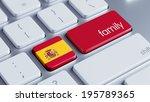 spain high resolution family... | Shutterstock . vector #195789365