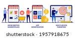 niche service marketplace  app... | Shutterstock .eps vector #1957918675