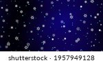 falling snowflakes seamless... | Shutterstock .eps vector #1957949128