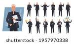 business man character set.... | Shutterstock .eps vector #1957970338