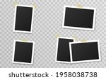 set of vector photo frames with ... | Shutterstock .eps vector #1958038738