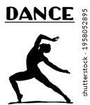 vector of man in ballet. man is ... | Shutterstock .eps vector #1958052895