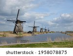 The Windmills At Kinderdijk Are ...