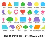 geometric shapes color set... | Shutterstock .eps vector #1958128255