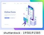 online form banner. web...