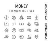 premium pack of money line...