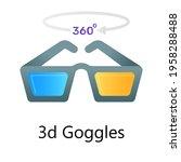 editable vector style of 3d...   Shutterstock .eps vector #1958288488
