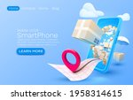 mobile delivery service ...   Shutterstock .eps vector #1958314615