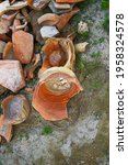 Fragments Of Ancient Pottery....