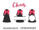 cheers megaphone bundle vector. ... | Shutterstock .eps vector #1958349685
