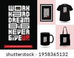trendy typography quote... | Shutterstock .eps vector #1958365132