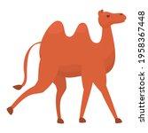east camel icon. cartoon of... | Shutterstock .eps vector #1958367448