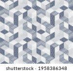 3d dotted cubes seamless...   Shutterstock .eps vector #1958386348