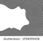 abstract vector 3d lines...   Shutterstock .eps vector #1958390458