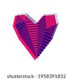 low poly pattern geometric...   Shutterstock .eps vector #1958391832