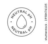 ph neutral balance vector icon  ...   Shutterstock .eps vector #1958476105