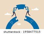 business teamwork and... | Shutterstock .eps vector #1958477515