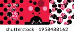 Cute Baby Ladybug Pattern...