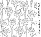 ink black and white monochrome... | Shutterstock .eps vector #1958509642
