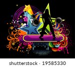 woman vector abstract... | Shutterstock .eps vector #19585330