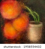 large still life floral...   Shutterstock . vector #1958554432