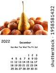 calendar 2022 december template....   Shutterstock . vector #1958581432