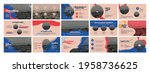 vector presentation templates....   Shutterstock .eps vector #1958736625