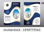 corporate business flyer poster ...   Shutterstock .eps vector #1958775562