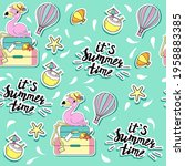 summer fashion patch badges...   Shutterstock .eps vector #1958883385